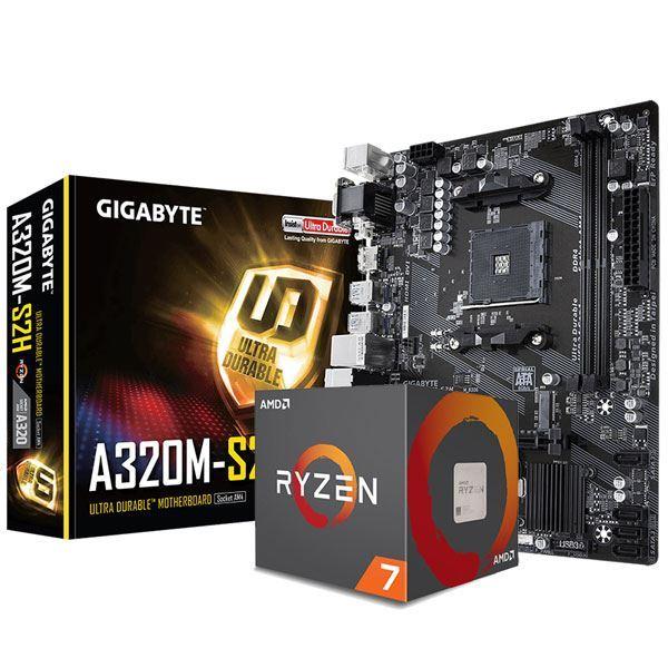 COMBO AMD RYZEN 7 2700 + A320