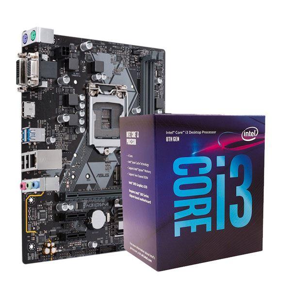 COMBO MICRO INTEL I3 8100 + H310 ASUS
