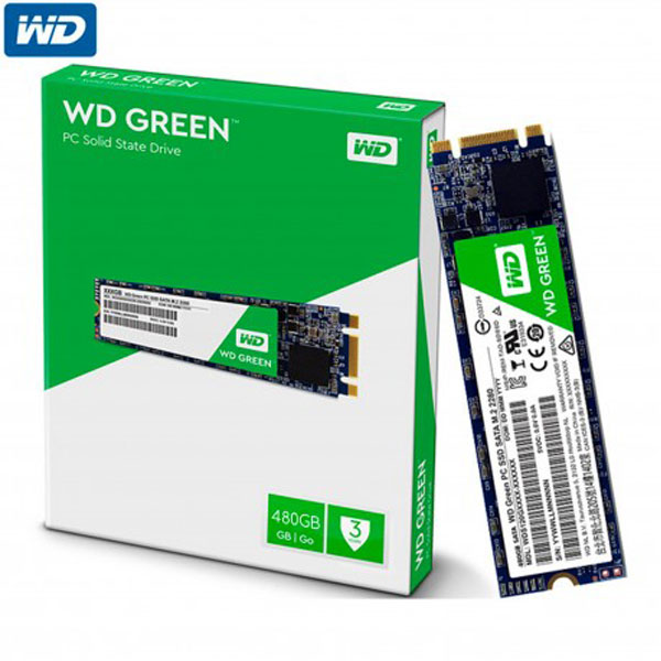 HD SSD 480GB M2 WD GREEN