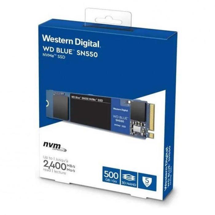 HD SSD 500GB M.2 WD BLUE 2400MB/S NVME