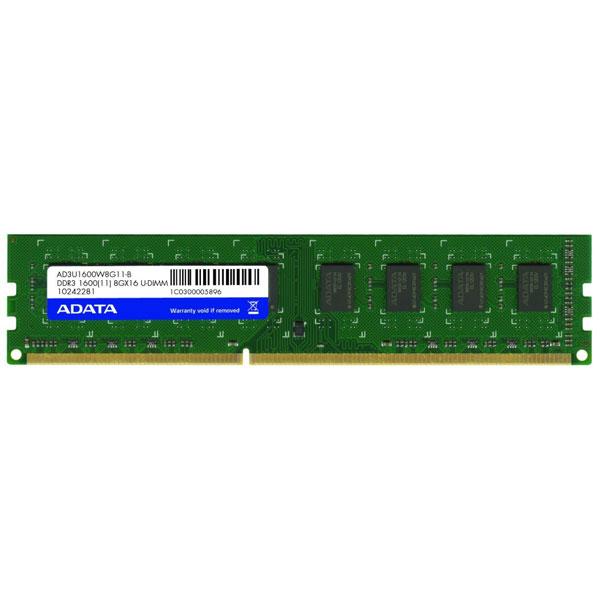 MEMORIA 4GB DDR3 1600 ADATA
