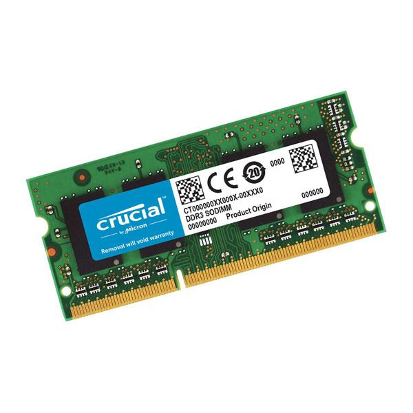 MEMORIA SODIMM 4GB 1600 CRUCIAL