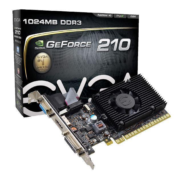 VIDEO GEFORCE GT 210 1GB DDR3 EVGA